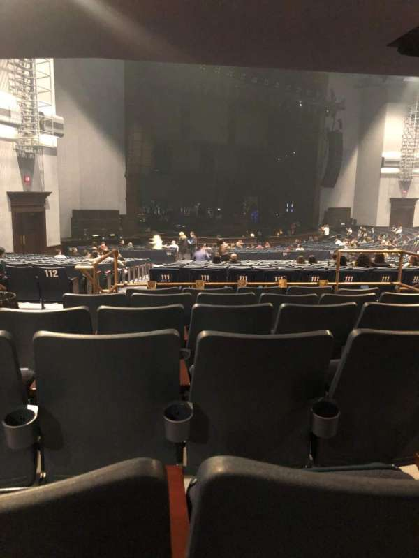 Rosemont Theatre, section: 111, row: FF, seat: 15