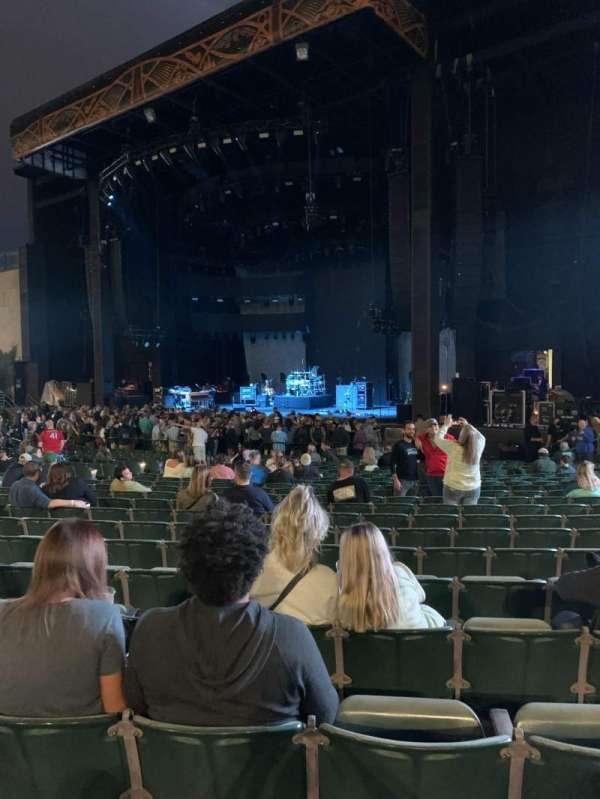 Fiddler's Green Amphitheatre, section: 101, row: NN, seat: 127