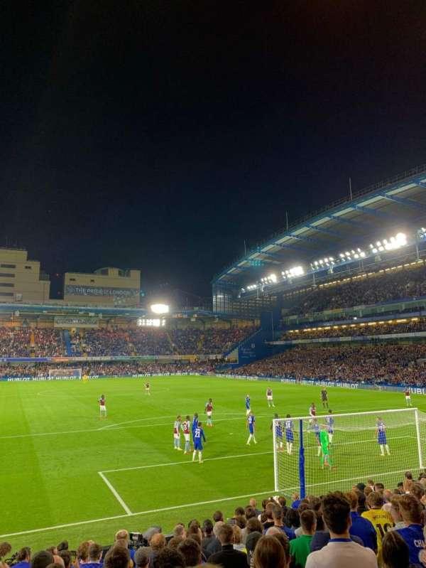 Stamford Bridge, section: Matthew Harding Lower 13, row: R, seat: 104