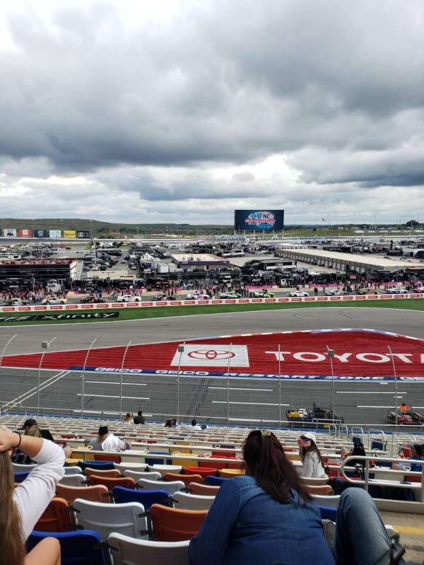 Charlotte Motor Speedway, section: CHRY D, row: 33, seat: 9