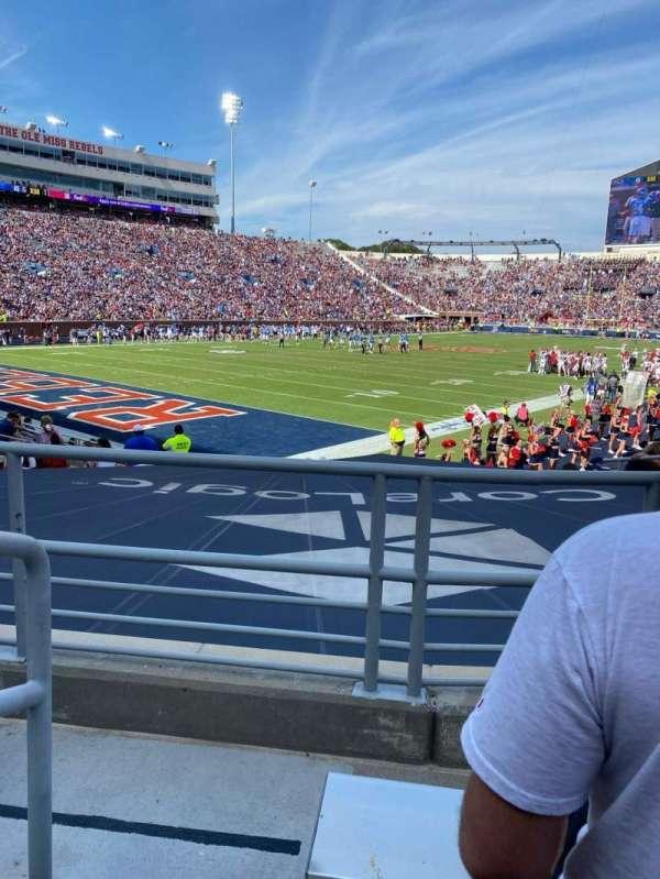 Vaught-Hemingway Stadium, section: S2, row: 11, seat: 9