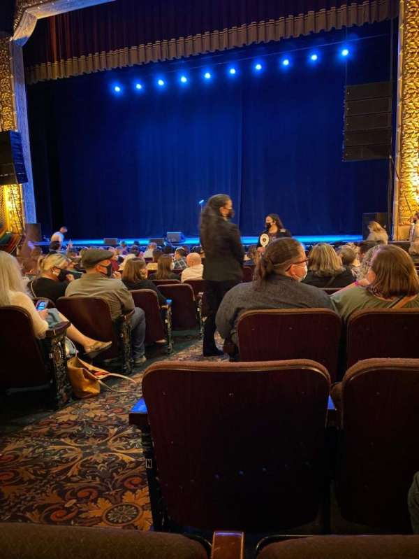 Hippodrome Theatre, section: Right Orchestra, row: P, seat: 4