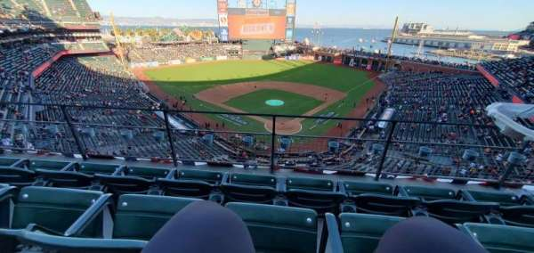 Oracle Park, section: VB317, row: C, seat: 6