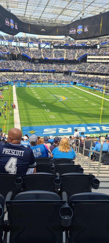 SoFi Stadium, section: 230, row: 19, seat: 2