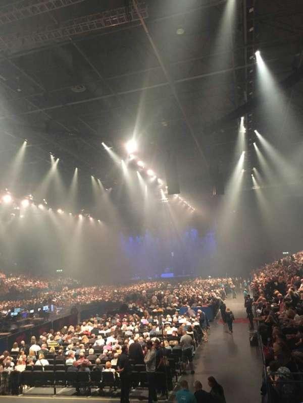 Utilita Arena Birmingham, section: 5 Lower, row: P, seat: 230