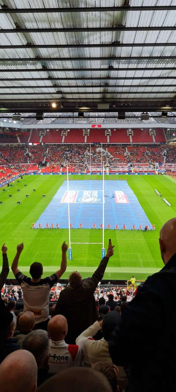 Old Trafford, section: W3104, row: 14, seat: 86