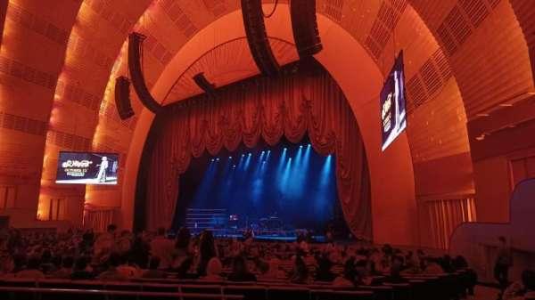 Radio City Music Hall, section: Orchestra 1, row: ZZ, seat: 109