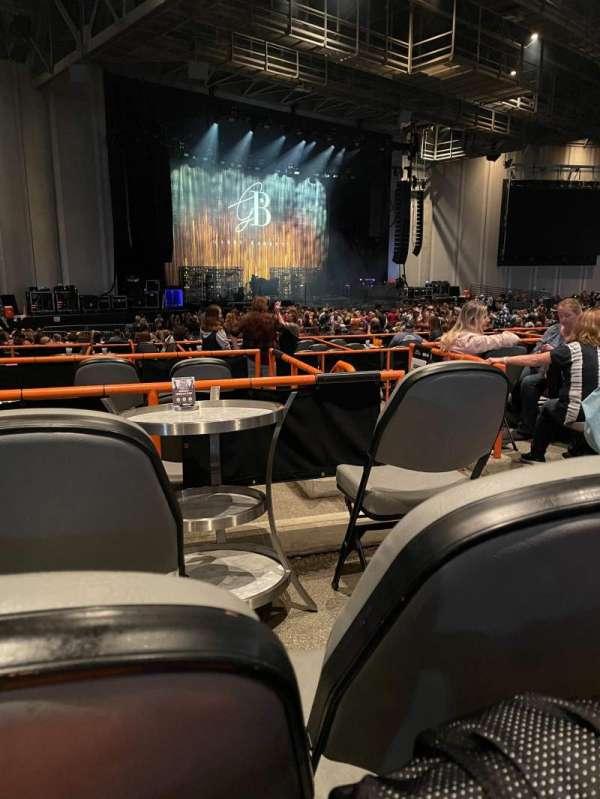 PNC Music Pavilion, section: 8, row: F, seat: 25