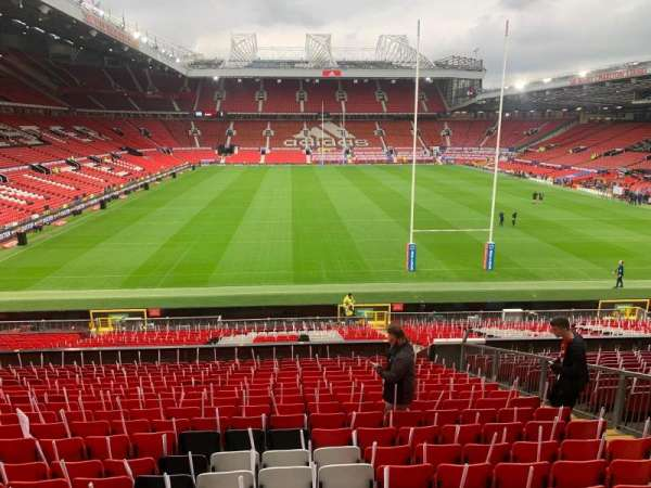 Old Trafford, section: W204, row: 20, seat: 213