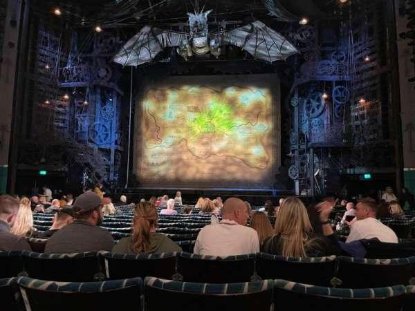 Apollo Victoria Theatre, section: Stalls, row: Q, seat: 21