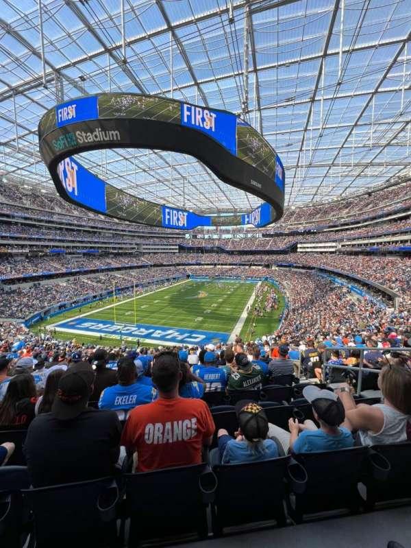 SoFi Stadium, section: 235, row: 23, seat: 8