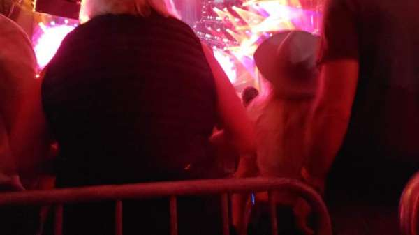 PNC Music Pavilion, section: 3, row: K, seat: 2