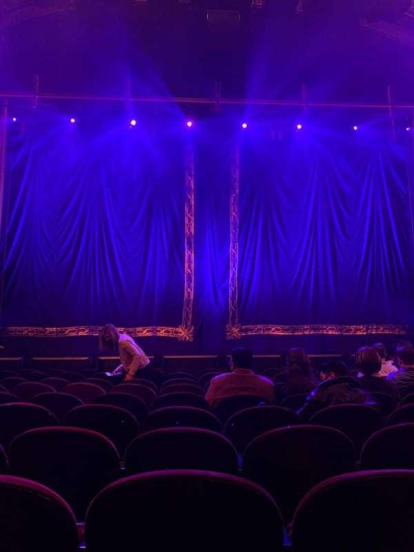 Brooks Atkinson Theatre, section: Orchestra C, row: J, seat: 106