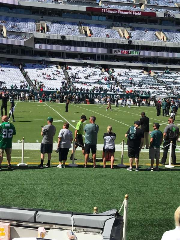 Lincoln Financial Field, section: 117, row: 2, seat: 3