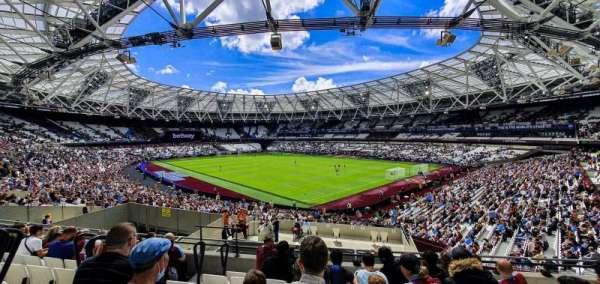 London Stadium, section: 243, row: 37, seat: 203