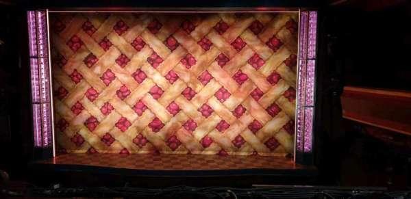 Adelphi Theatre, section: Dress circle, row: B, seat: 15-16