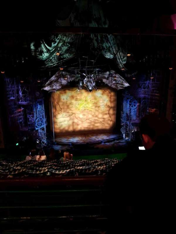 Apollo Victoria Theatre, section: Circle, row: H, seat: 32-33