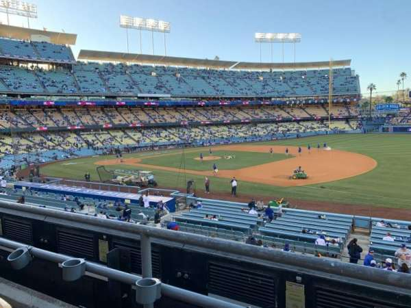 Dodger Stadium, section: 144LG, row: B, seat: 8