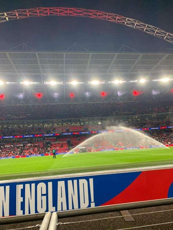 Wembley Stadium, section: 123, row: 1, seat: 25