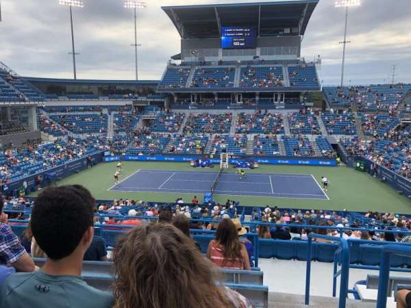 Lindner Family Tennis Center, Center Court, section: 313, row: Q, seat: 2