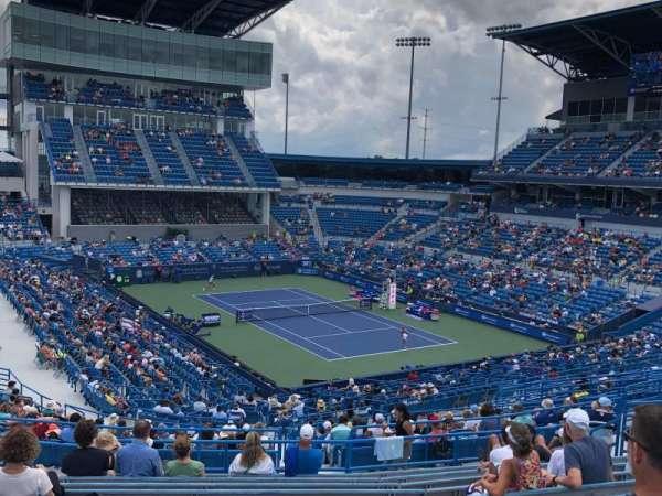 Lindner Family Tennis Center, Center Court, section: 308, row: V, seat: 16