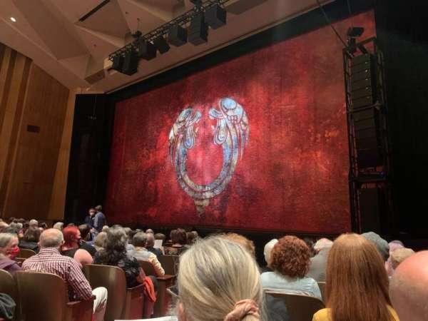 Keller Auditorium, section: Orchestra E, row: H, seat: 2