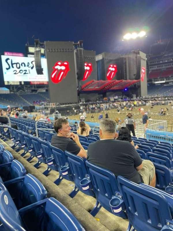 Nissan Stadium, section: 134, row: J, seat: 13