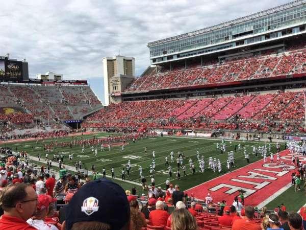 Ohio Stadium, section: 12A, row: 18, seat: 17