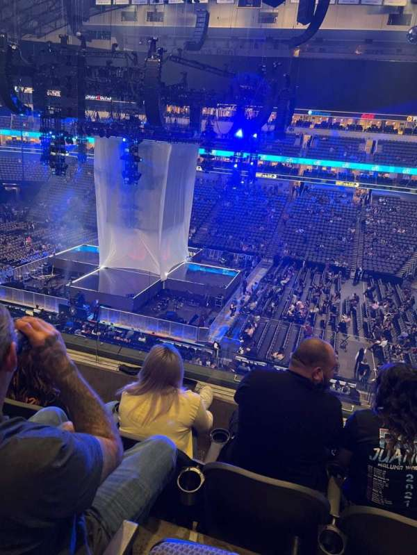 American Airlines Center, section: 216, row: C, seat: 6