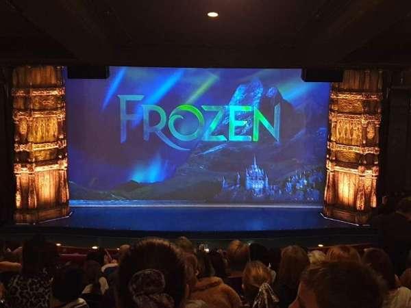 Theatre Royal Drury Lane, section: Royal Circle, row: L, seat: 27