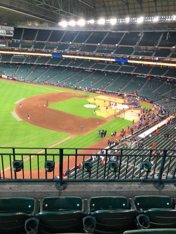 Minute Maid Park, section: 307, row: 3, seat: 7
