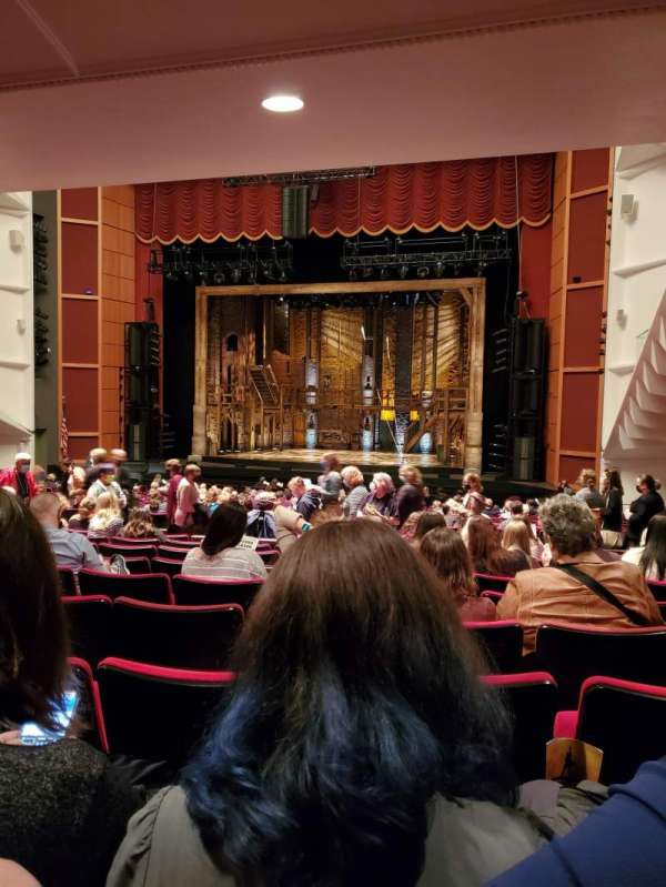 Uihlein Hall, section: R Orch, row: X, seat: 44