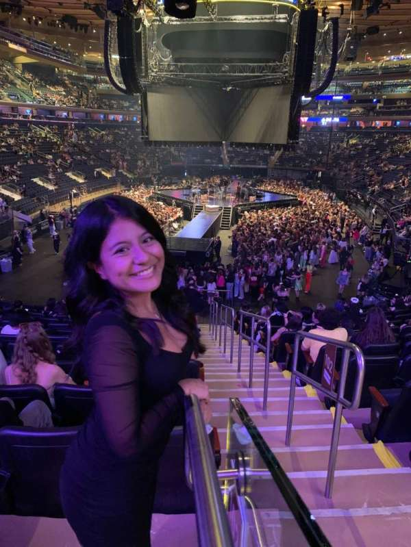 Madison Square Garden, section: 102, row: 20, seat: 20