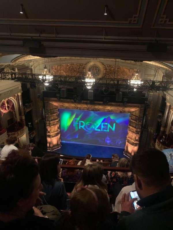 Theatre Royal Drury Lane, section: Balcony, row: J, seat: 21