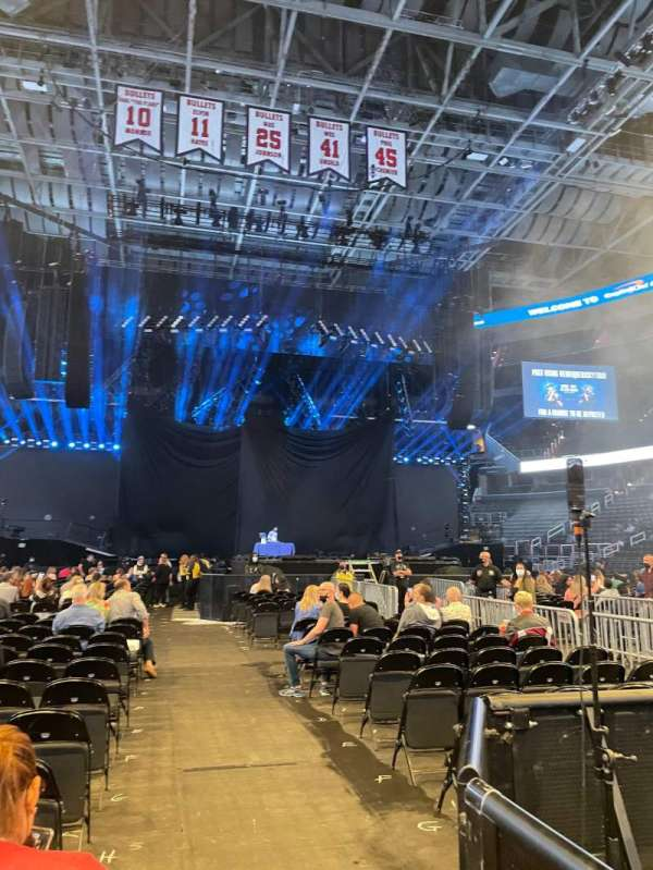 Capital One Arena, section: Floor 4, row: N, seat: 12