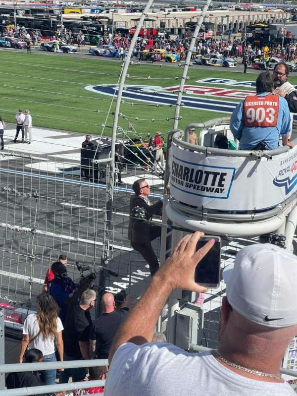 Charlotte Motor Speedway, section: E, row: 11, seat: 34