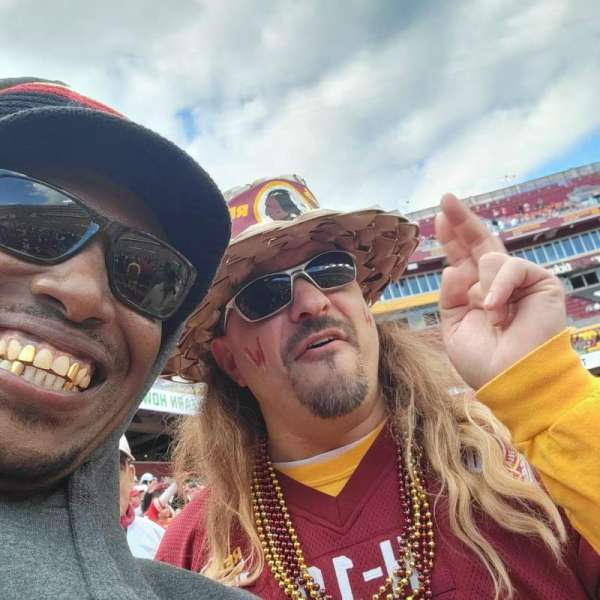 FedEx Field, section: 141, row: 10, seat: 1