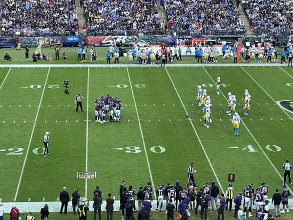 M&T Bank Stadium, section: 228, row: 8, seat: 12