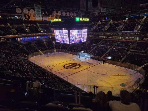 TD Garden, section: BAL 312, row: 8, seat: 15
