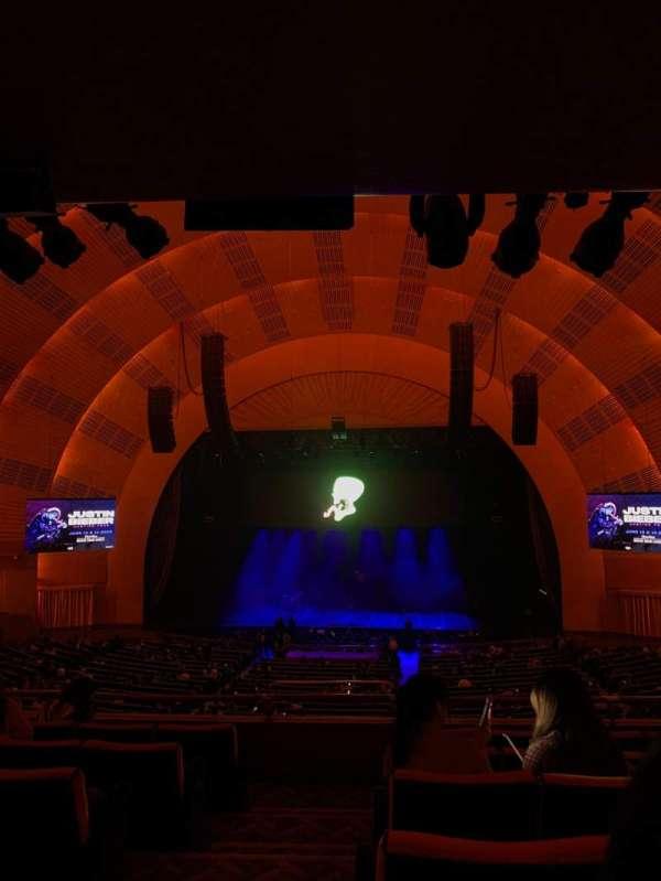 Radio City Music Hall, section: 1st Mezzanine 3, row: F, seat: 313