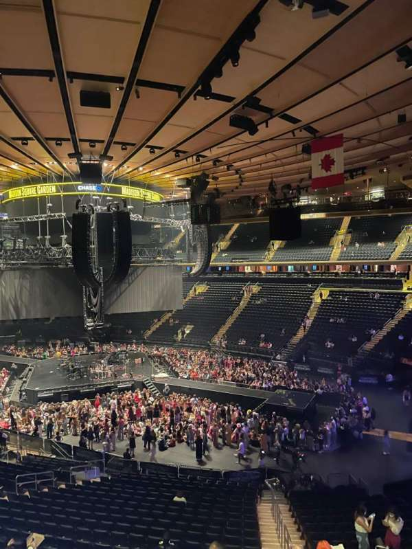 Madison Square Garden, section: 227, row: 2, seat: 9