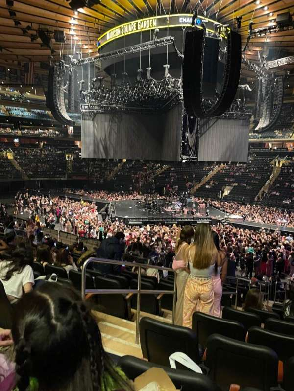 Madison Square Garden, section: 119, row: 18, seat: 3