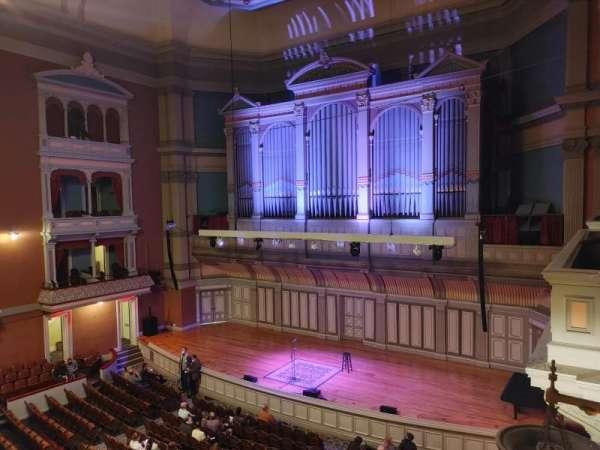 Troy Savings Bank Music Hall, section: Box 8, row: 1, seat: 2