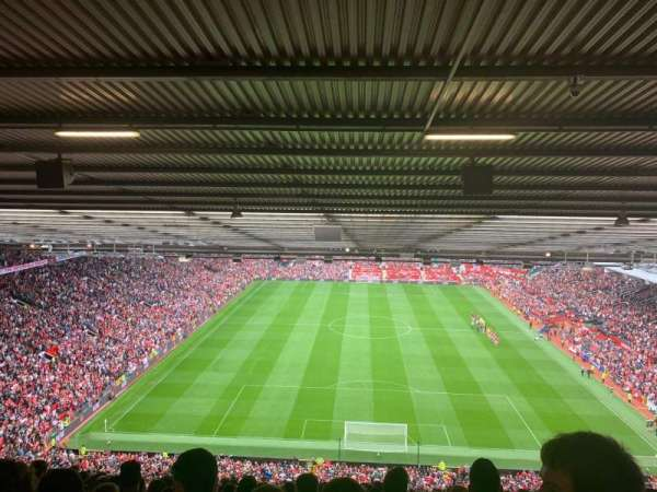 Old Trafford, section: W3103, row: 35