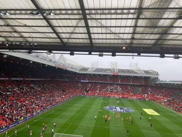 Old Trafford, section: W3103, row: 3