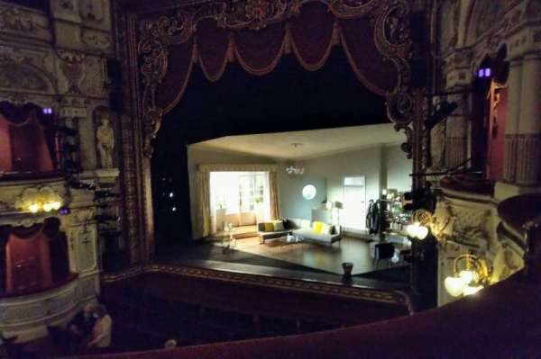 Lyceum Theatre (Sheffield), section: Circle, row: B, seat: 2