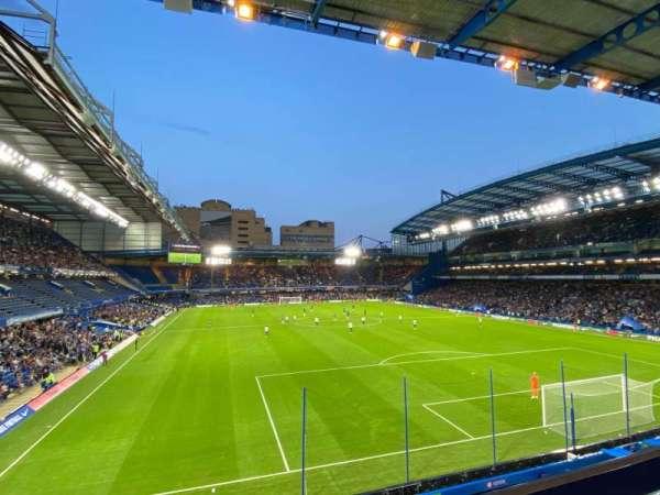 Stamford Bridge, section: Matthew Harding Upper 14, row: A, seat: 130