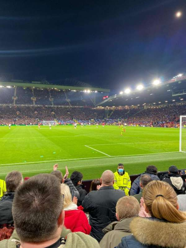 Old Trafford, section: W103, row: HH, seat: 137