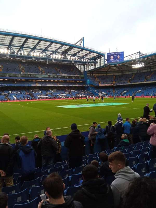 Stamford Bridge, section: East Lower South Family, row: L, seat: 61