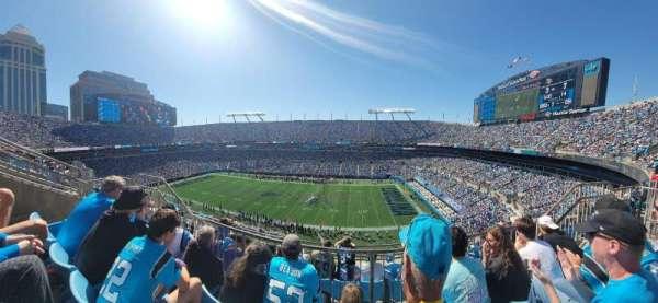 Bank of America Stadium, section: 512, row: 2, seat: 12